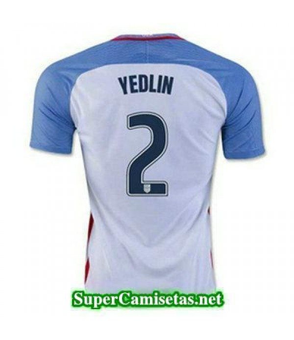 Primera Equipacion Camiseta USA YEDLIN Copa America 2016