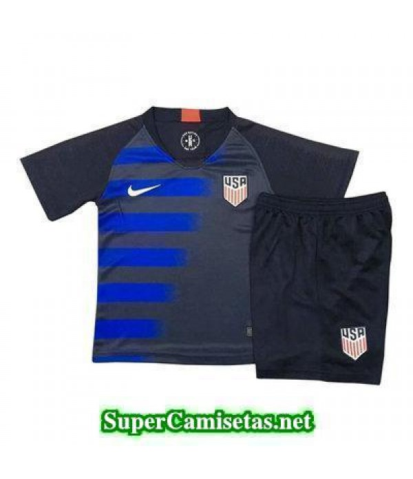 Seconda Equipacion Camiseta USA Ninos 2018 2019