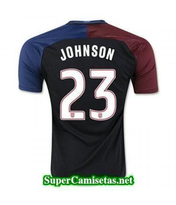 Segunda Equipacion Camiseta USA JOHNSON Copa America 2016