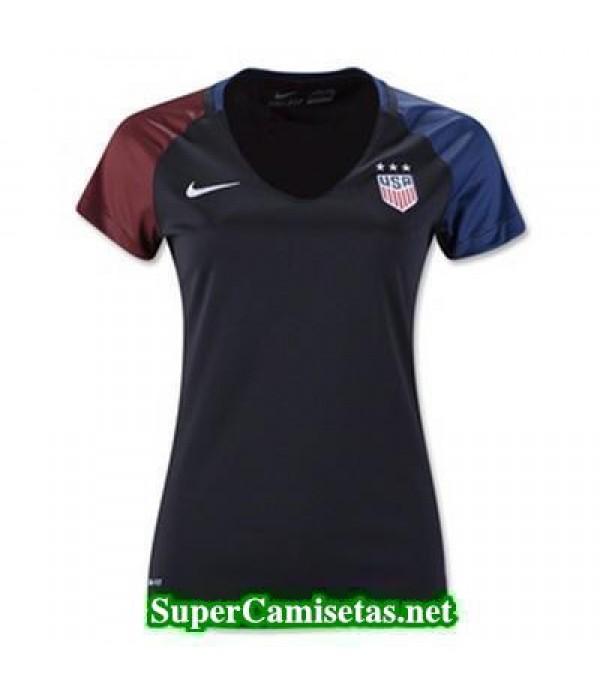 Segunda Equipacion Camiseta USA Mujer Copa America 2016