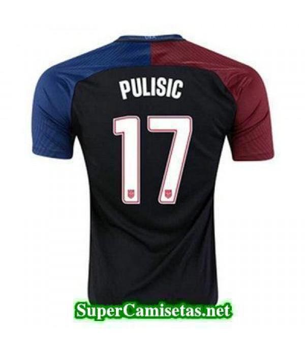 Segunda Equipacion Camiseta USA PULISIC Copa America 2016