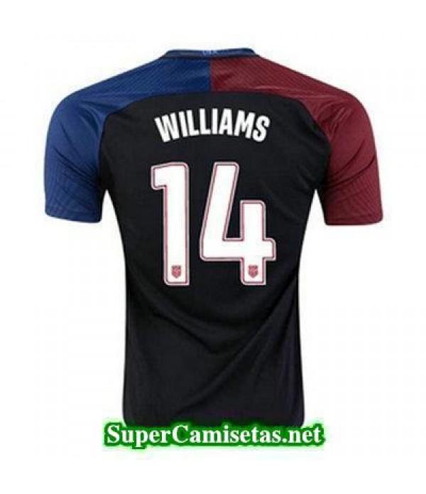 Segunda Equipacion Camiseta USA WILLIAMS Copa America 2016