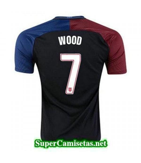 Segunda Equipacion Camiseta USA WOOD Copa America 2016