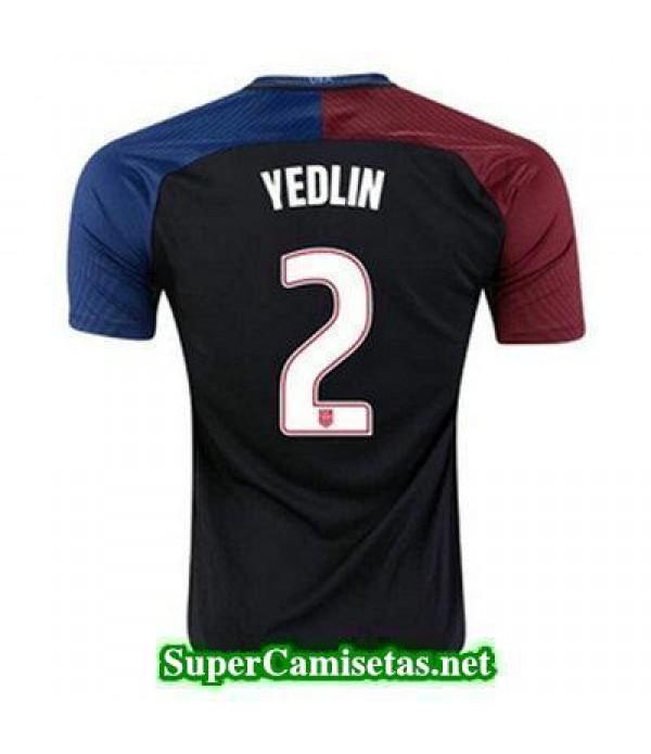 Segunda Equipacion Camiseta USA YEDLIN Copa America 2016
