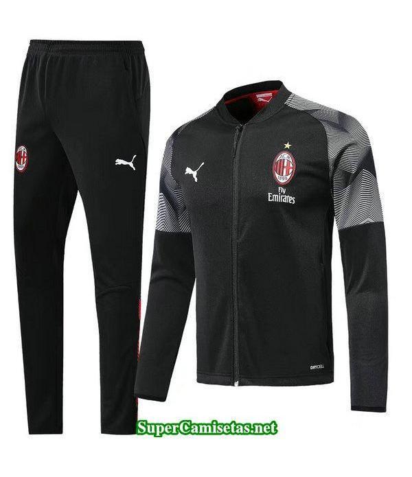 Chaquetas AC Milan Negro-02 2018 2019 baratas