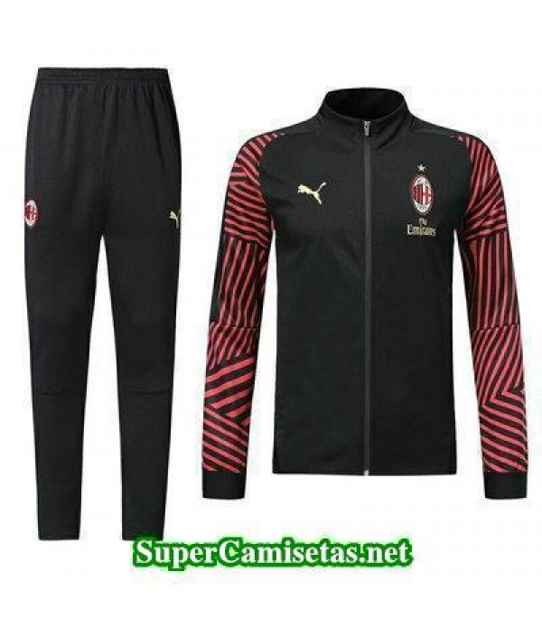 Chaquetas AC Milan Negro 2018 2019 baratas
