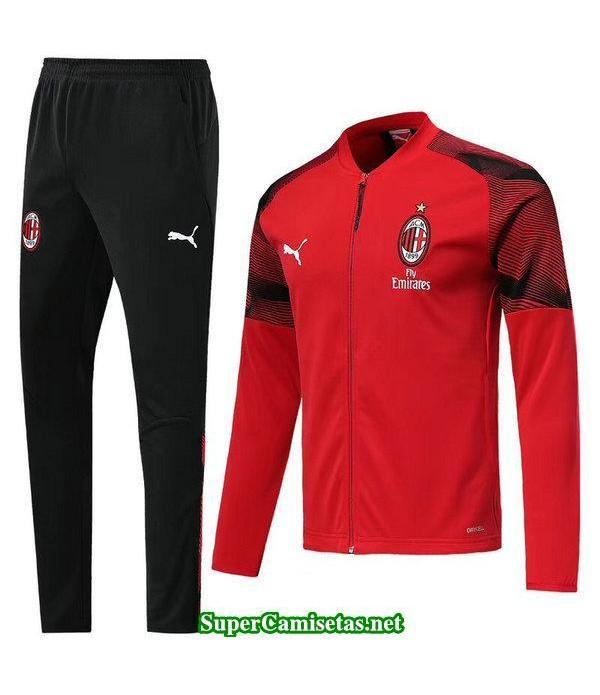 Chaquetas AC Milan Rojo 2018 2019-01 baratas