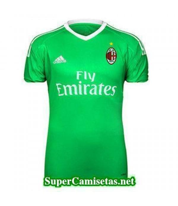 Portero Equipacion Camiseta AC Milan 2017/18