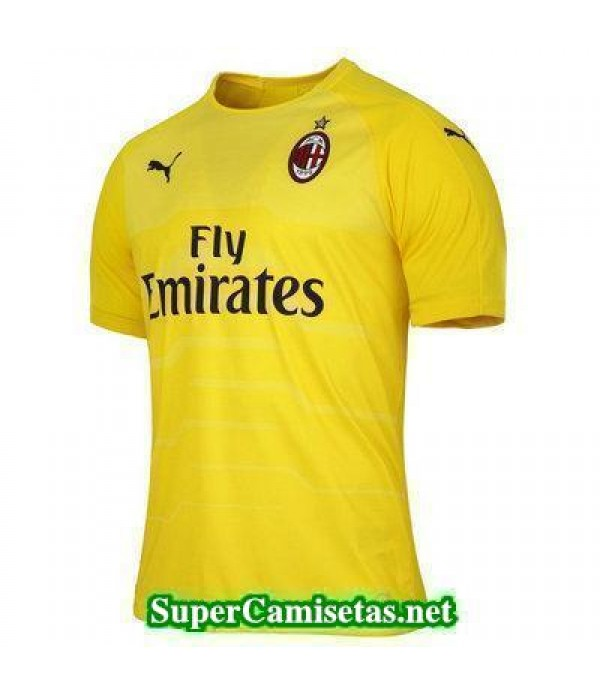 Portero Equipacion Camiseta AC Milan 2018/19