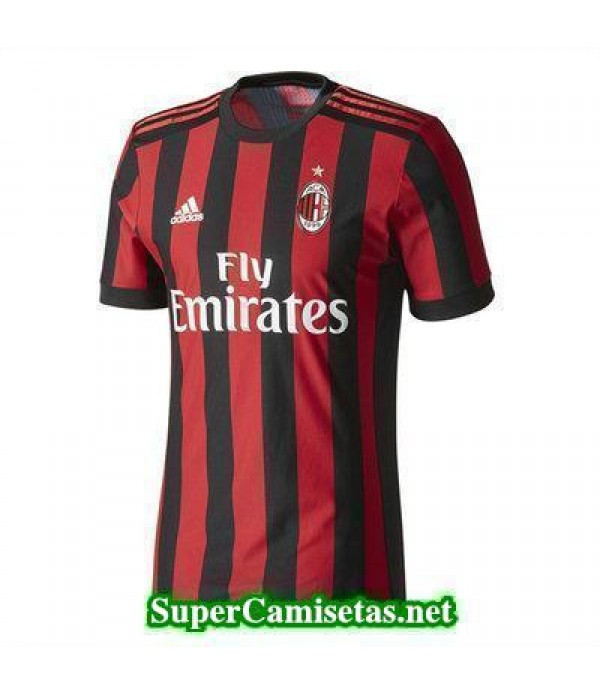 Primera Equipacion Camiseta AC Milan 2017/18