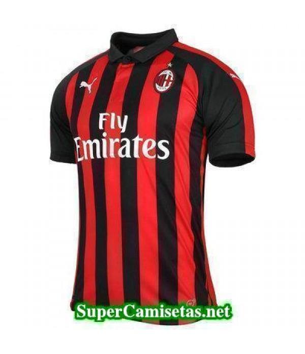 Primera Equipacion Camiseta AC Milan 2018/19