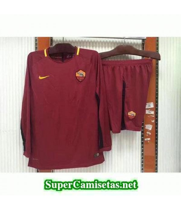 Primera Equipacion Camiseta As Roma Manga Larga 20...