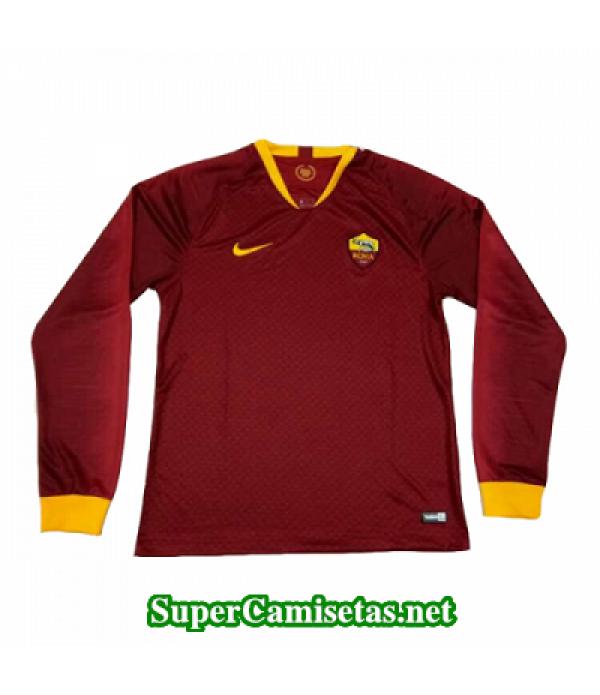Primera Equipacion Camiseta As Roma Manga Larga 2018/19