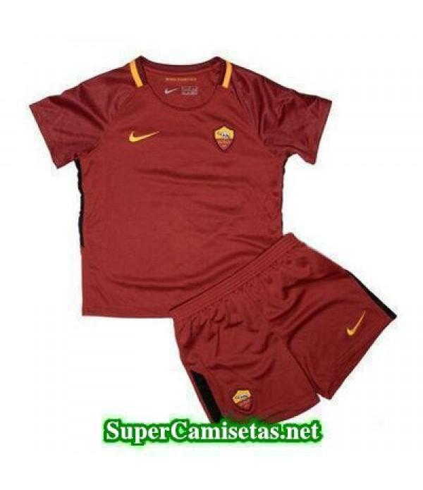 Primera Equipacion Camiseta As Roma Ninos 2017/18