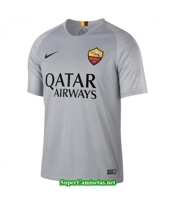 Segunda Equipacion Camiseta As Roma 2018/19