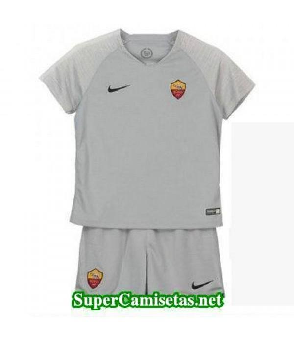 Segunda Equipacion Camiseta As Roma Ninos 2018/19