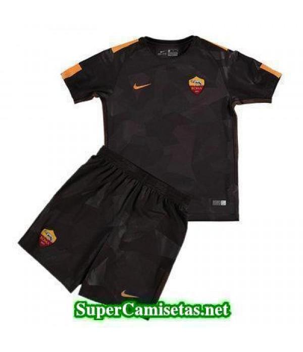Tercera Equipacion Camiseta As Roma Ninos 2017/18