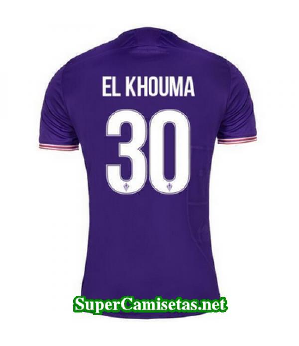 Primera Equipacion Camiseta Fiorentina El Khouma 2017/18