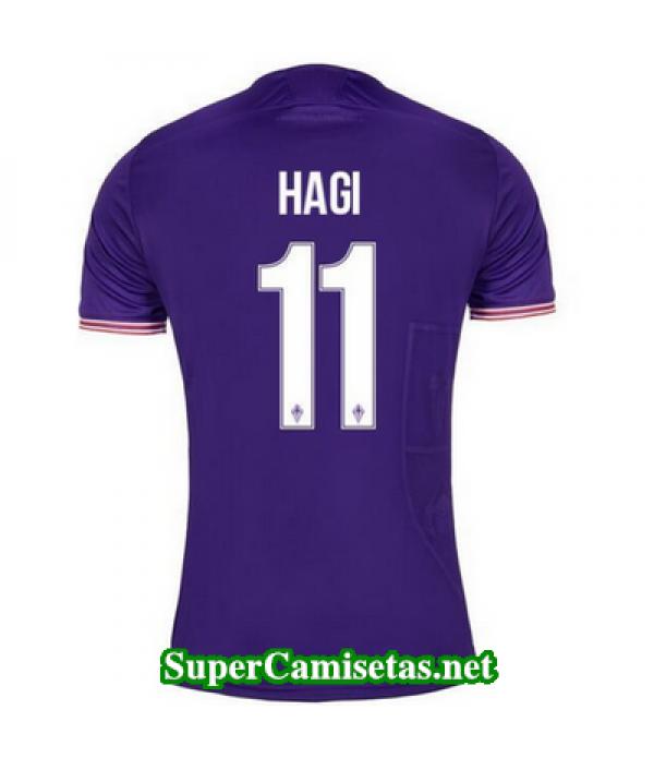Primera Equipacion Camiseta Fiorentina Hagi 2017/18