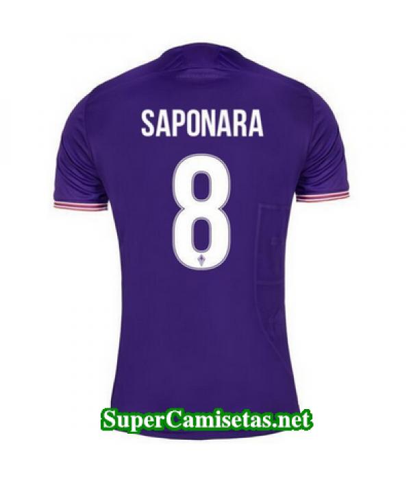 Primera Equipacion Camiseta Fiorentina Saponara 2017/18