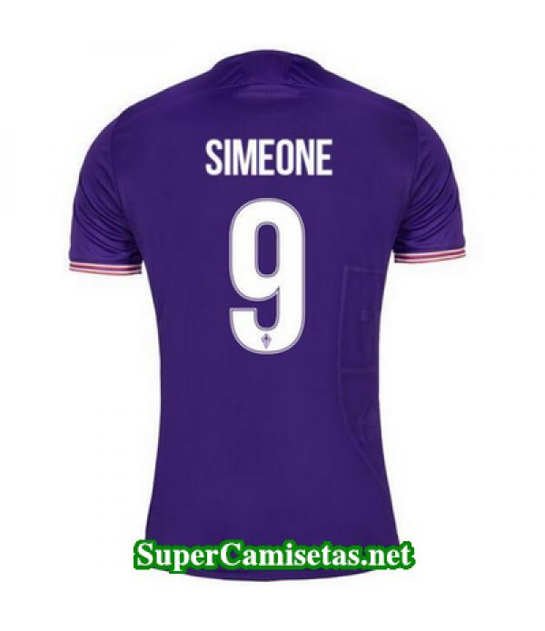 Primera Equipacion Camiseta Fiorentina Simeone 2017/18