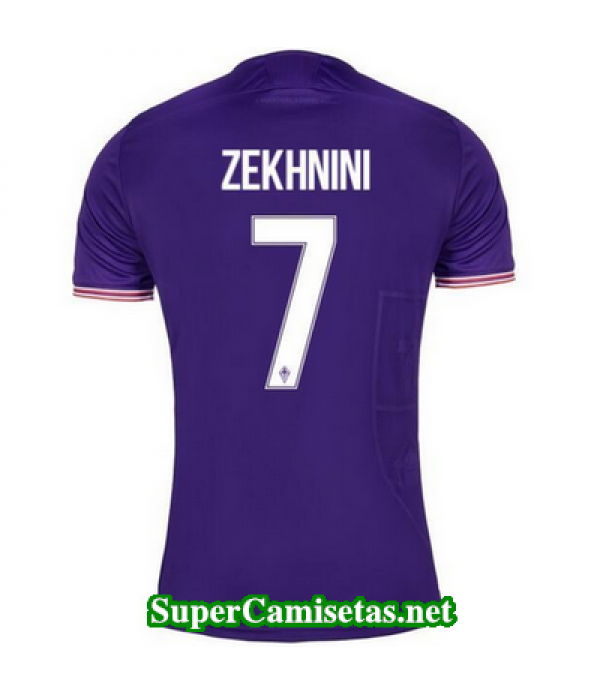 Primera Equipacion Camiseta Fiorentina Zekhnini 2017/18