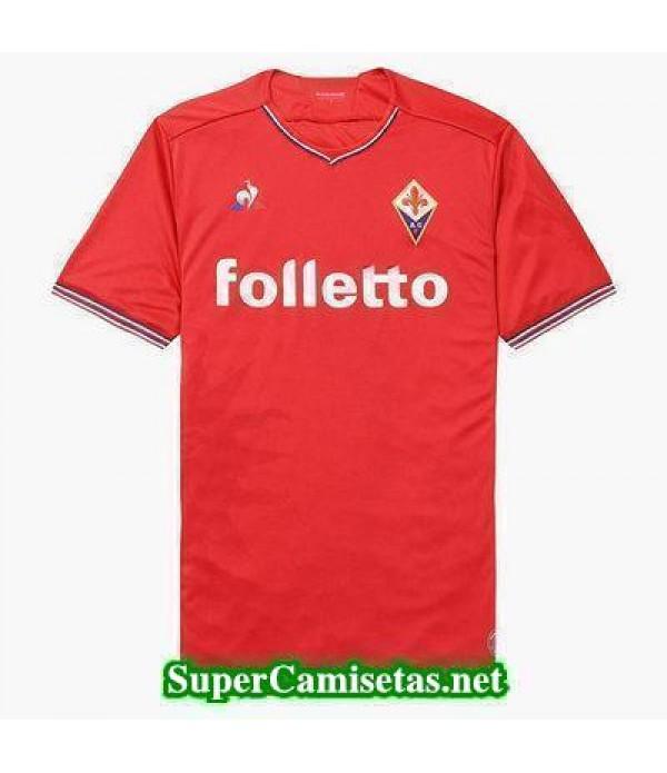 Segunda Equipacion Camiseta Fiorentina rojo 2017/18