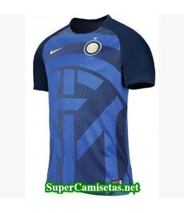 camiseta pre-partido Inter Milan Azul 2018 2019