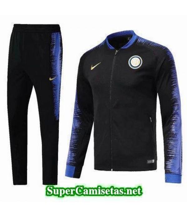 Chaquetas Inter Milan Negro 2018 2019 baratas