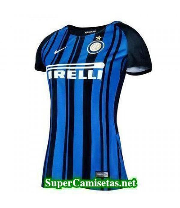 Primera Equipacion Camiseta Inter Milan Mujer 2017...