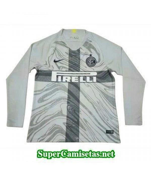 Tercera Equipacion Camiseta Inter Milan Manga Larg...