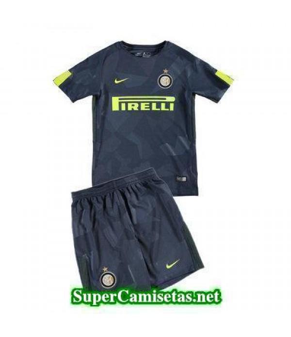 Tercera Equipacion Camiseta Inter Milan Ninos 2017...