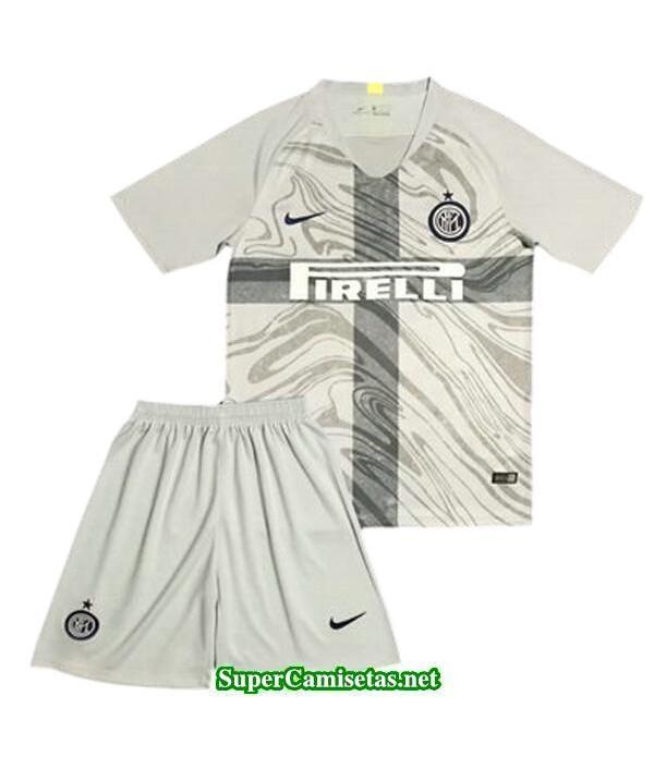 Tercera Equipacion Camiseta Inter Milan Ninos 2018/19