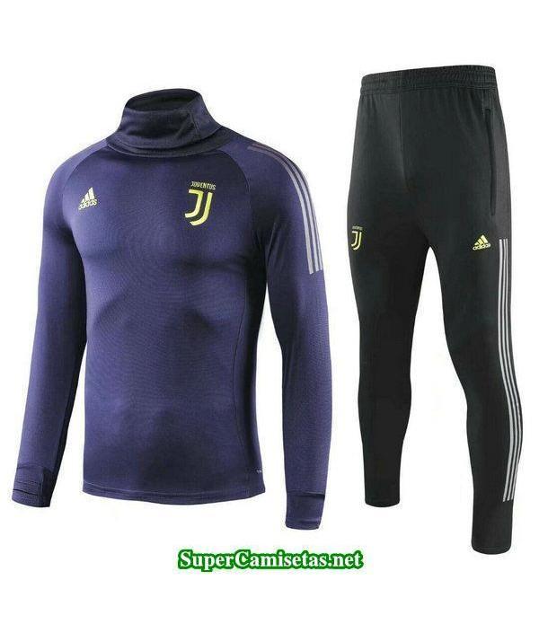 Camiseta entrenamiento Juventus ML purpura 2018 20...