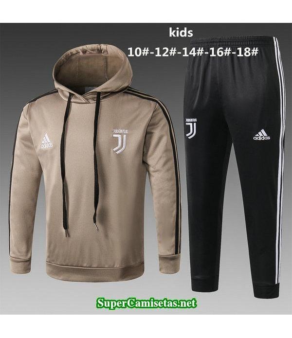 Camiseta entrenamiento Juventus Ninos ML Amarillo-...