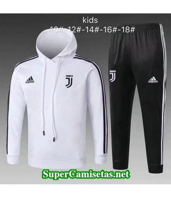 Camiseta entrenamiento Juventus Ninos ML Blanco 20...
