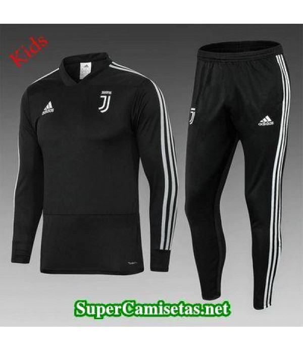 Camiseta entrenamiento Juventus Ninos ML Negro 201...