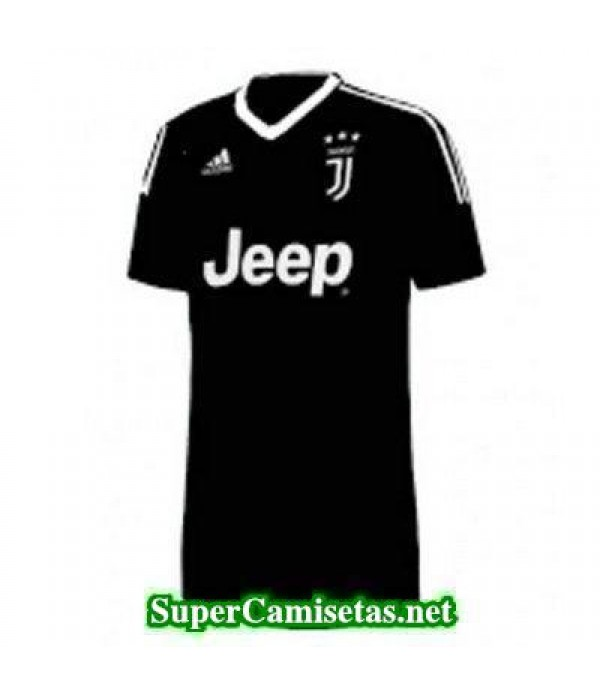 Portero Equipacion Camiseta Juventus Negro 2017/18