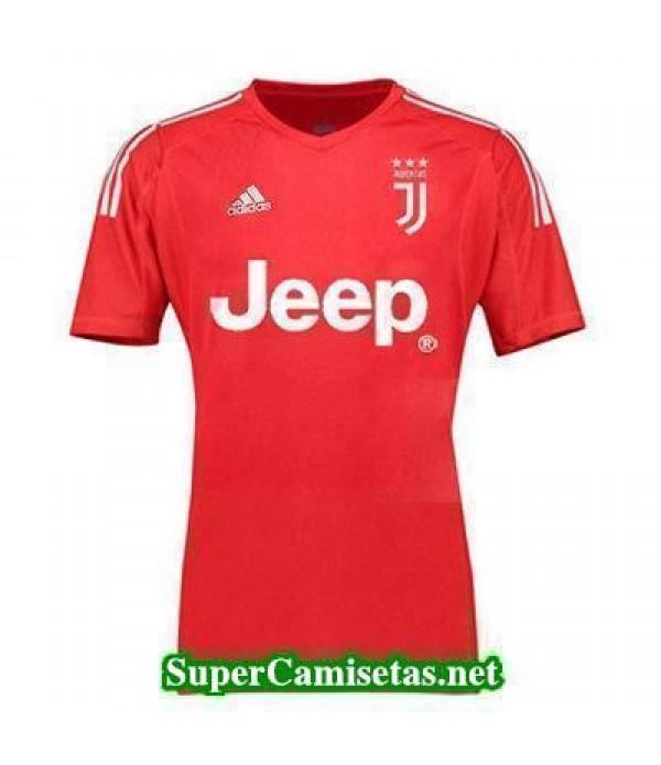 Portero Equipacion Camiseta Juventus Rojo 2017/18
