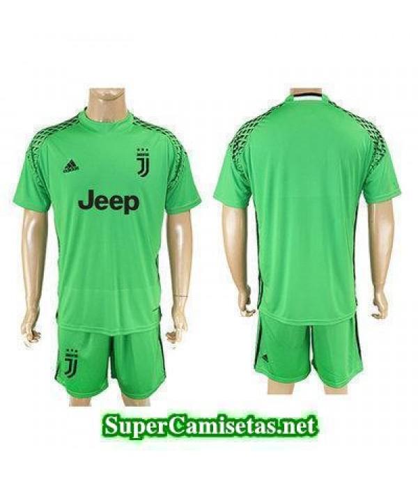 Portero Equipacion Camiseta Juventus verde 2017/18
