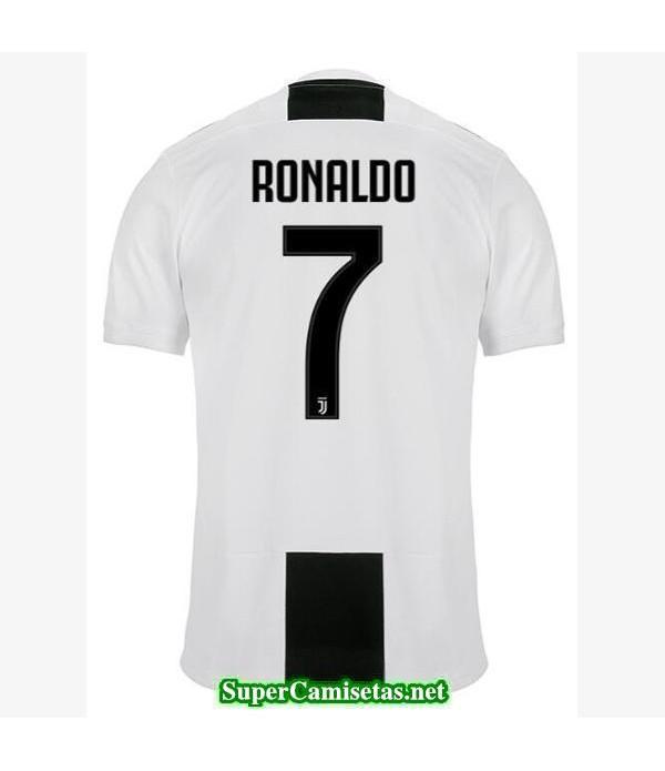 Primera Equipacion Camiseta Juventus Ronaldo 2018/19