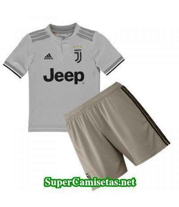 Segunda Equipacion Camiseta Juventus Ninos 2018/19