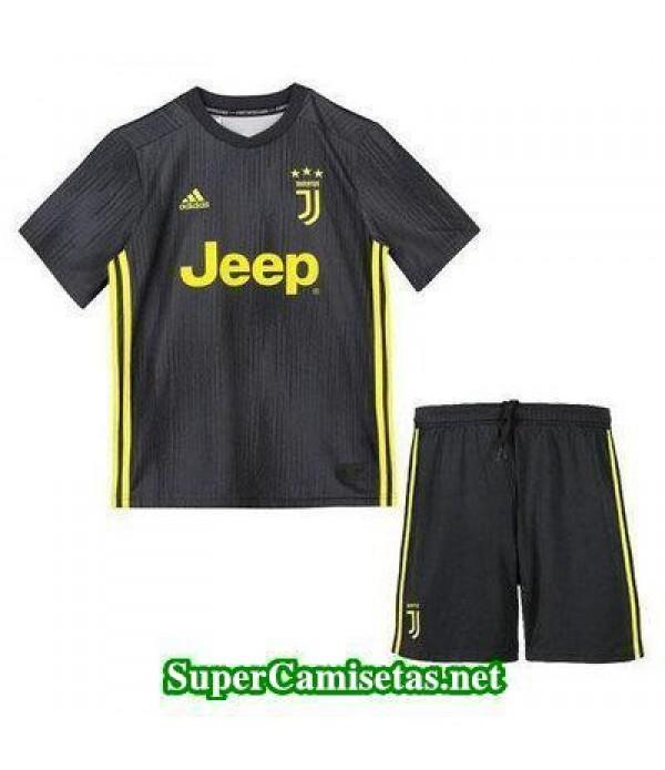 Tercera Equipacion Camiseta Juventus Ninos 2018/19