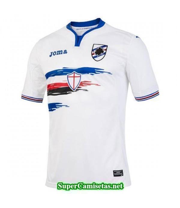 Segunda Equipacion Camiseta Sampdoria 2016/17