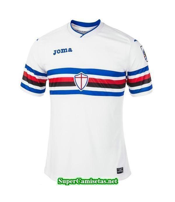 Segunda Equipacion Camiseta Sampdoria 2017/18