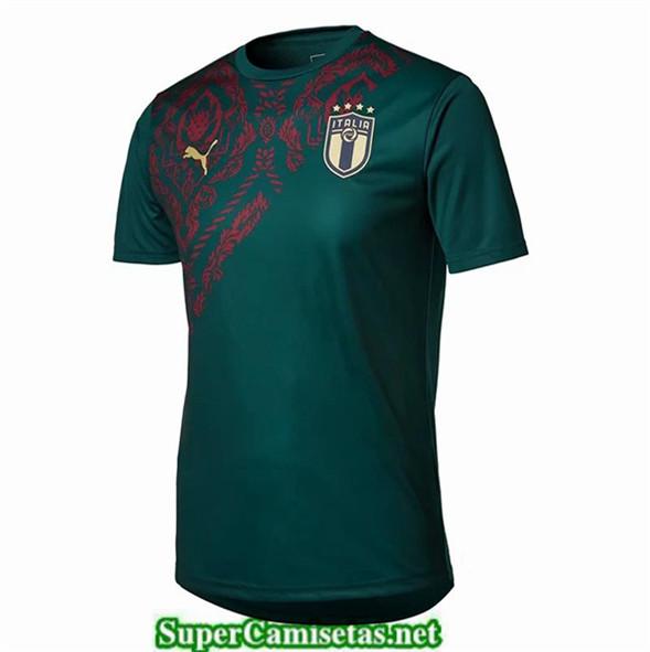 Tailandia Entrenamiento Equipacion Camiseta Italian Verde 2019/20