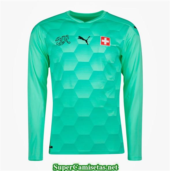 Tailandia Portero Equipacion Camiseta Suiza Uefa Euro 2020/2021