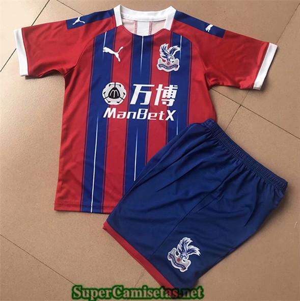 Tailandia Primera Equipacion Camiseta Crystal Palace Niños 2019/20