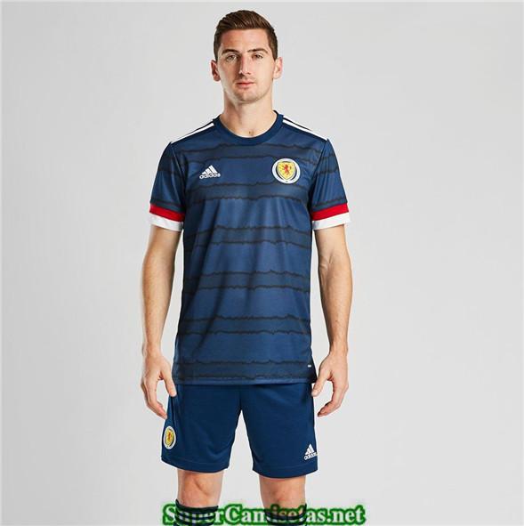 Tailandia Primera Equipacion Camiseta Escocia Uefa Euro 2020/2021