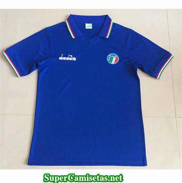Tailandia Primera Equipacion Camiseta Clasicas Italy 1986